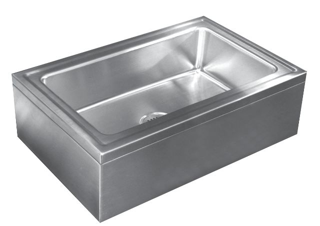 Corner Mop Sink : The Industry Source for Durable, Quality Stainless Steel Sinks that ...