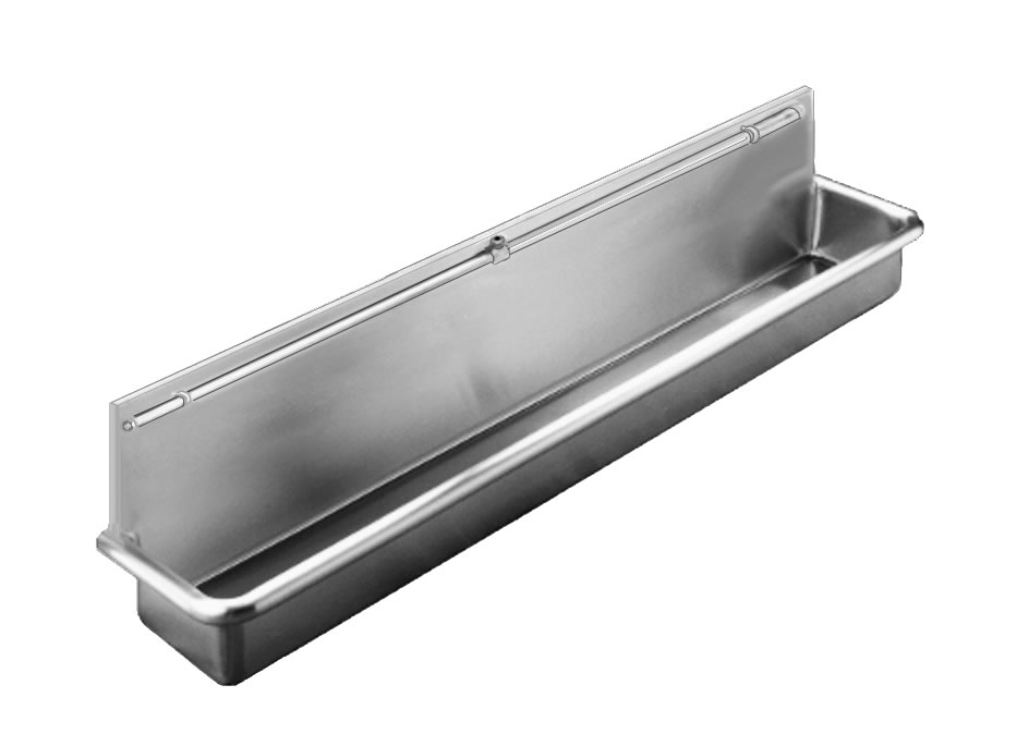 Trough Sink Stainless Steel : Commercial Stainless Steel Trough Sink