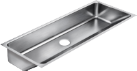 Commercial Single Bowl Stainless Steel Sinks - Just Manufacturing