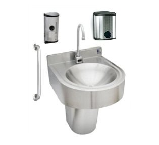 Complete ADA Compliant Lavatory Package