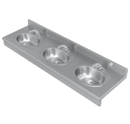 HEALTHCARE Multi-Station Stainless Steel Sinks - Just Manufacturing