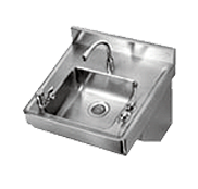 Academic Stainless Steel Wall Mount Sinks - Just Manufacturing