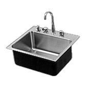 Academic Single Bowl Stainless Steel Sinks - Just Manufacturing