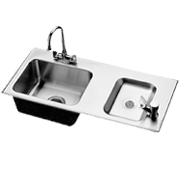 Drinking Fountain/Sink Combo - Just Manufacturing