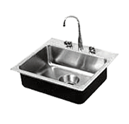 Government Single Bowl Stainless Steel Sinks - Just Manufacturing