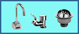 Faucet, Bubblers and Drains, Vandal Resistant Faucets