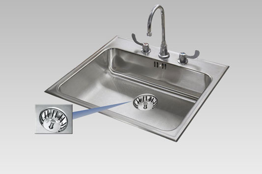 Integra Seamless sink drain