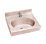 Health Care Antimicrobial Copper Sinks - Just Manufacturing