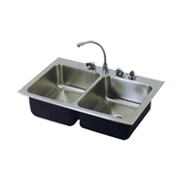 Stainless Steel Food Service Sinks Double Bowl Just Mfg