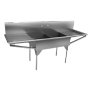 Commercial Scullery Sinks - Just Manufacturing
