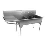 Commercial Scullery Non-Food Sinks - Just Manufacturing