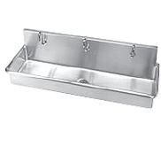 Institutional Multi Station Trough Sinks   Just Manufacturing