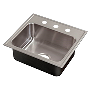 Hotel Suite Single Bowl Stainless Steel Sinks - Just Manufacturing