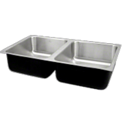 Assisted Living Single Bowl Stainless Steel Sinks - Just Manufacturing