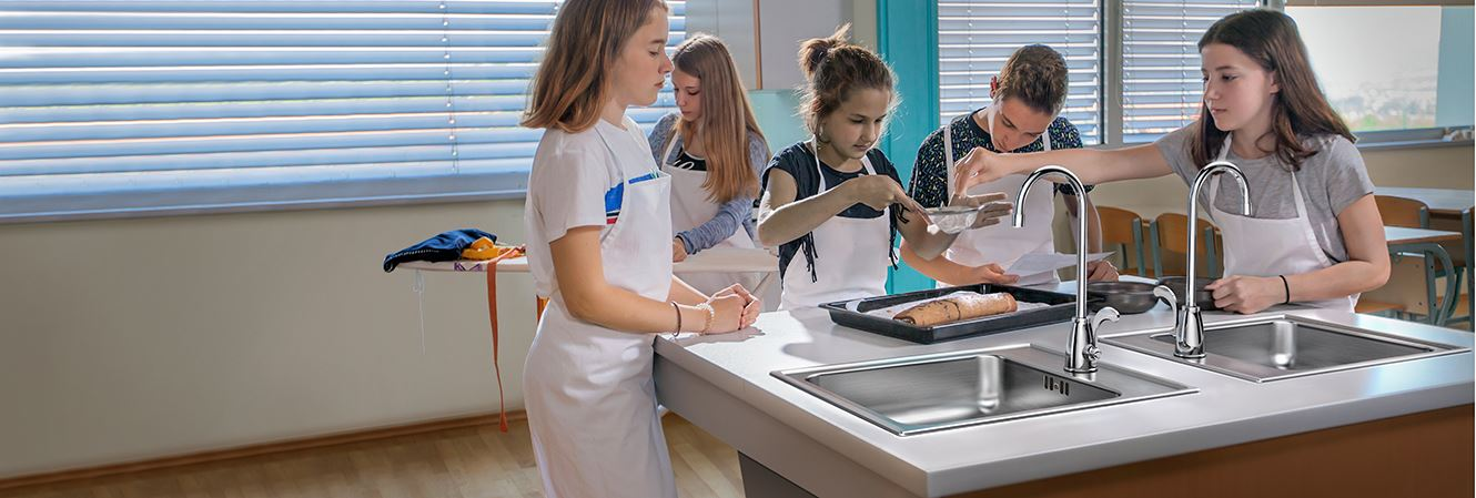 Classroom Stainless Steel ADA Sinks from Just