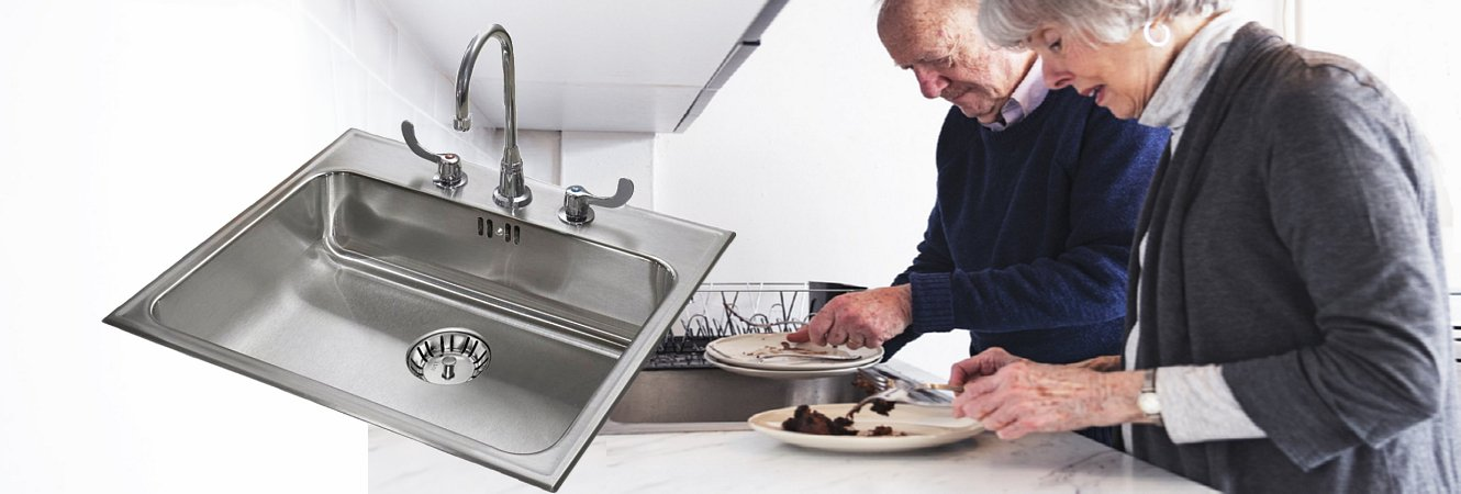 Assisted Living Stainless Steel Fixtures from Just