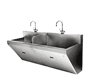 SURGICAL SCRUB SINKS SINK