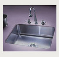 Single Compartment Stainless Steel Kitchen Undermount Sink- Just Manufacturing